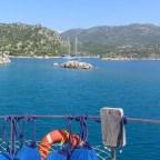 Blaue Reise an der lykischen Küste